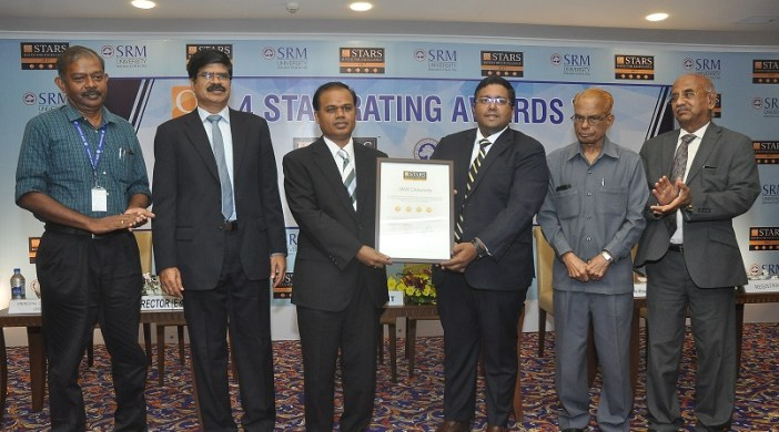Quacquarelli Symonds Recognizes SRM University 4Star University