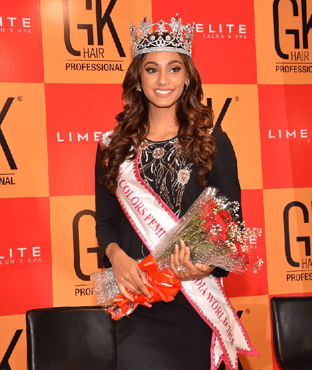 Miss India winner Anukreethy Vas
