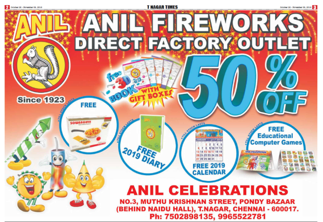 Anil Fire works