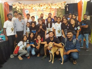 BCI volunteers team with Hercules, the dog
