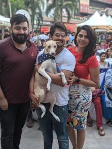 Sruti and Nakkhul with Oola