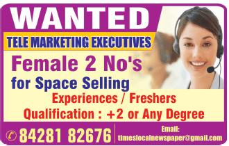 Telemarketing Job Chennai