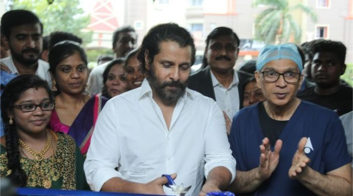 Actor Chiyaan Vikram
