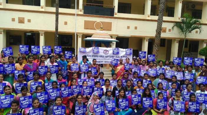 Cauvery Calling SDNB Vaishnav college