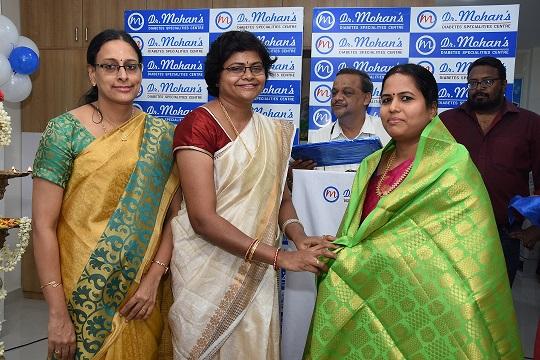 Dr. Mohan's Diabetes Specialties Centre opens its Kilpauk branch