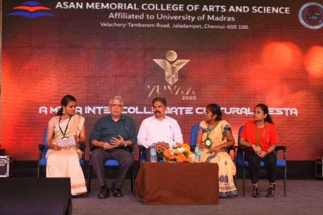 Yuvaa 2020 at Asan Memorial College of Arts & Science
