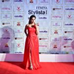 Chaitra Vasudevan at Femina Stylista South 2020 in Bengaluru