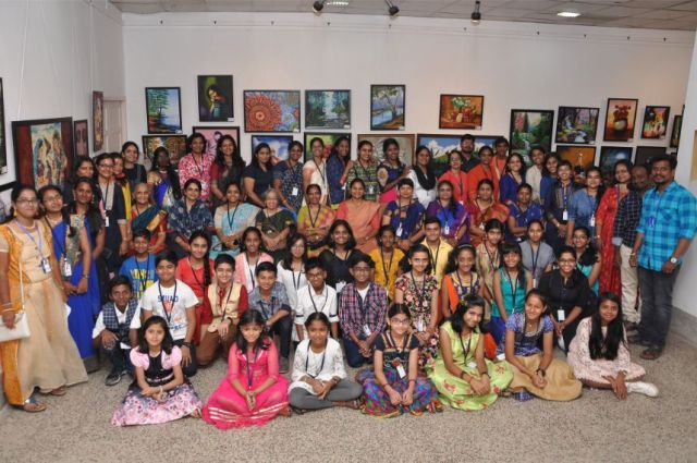 "Maven's 9th Annual exhibition ""நேர்த்தியின் மரபு """