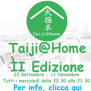 taiji@home seconda edizione lezioni online per principianti