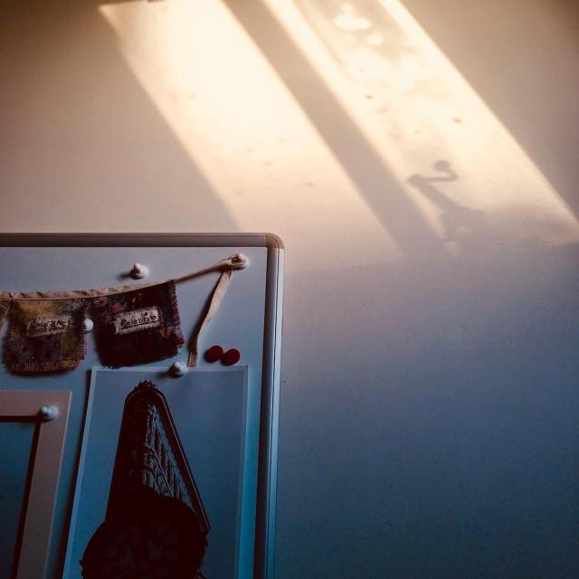 Winter light in the studio lovesalisbury november2017 lightandshadow