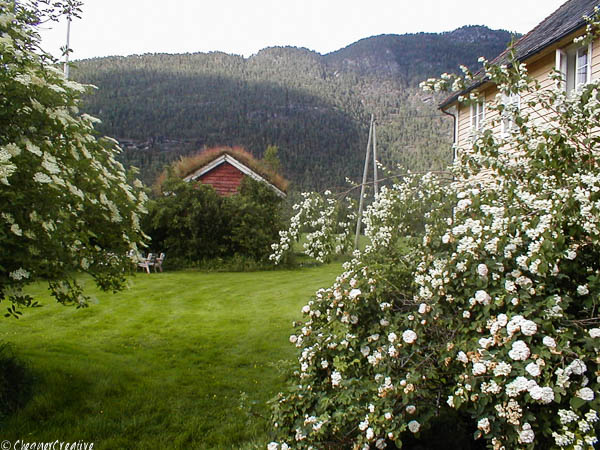 Family farmhouse in the Western Fjords