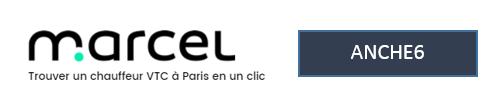 code parrain Marcel cab vtc