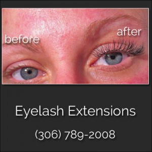 Eyelash Extensions Regina Cg Nail Salon Sk Before And After Picture