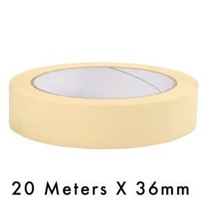 Masking Tape – 36mm / 1.5″ Width – 20 Meters in Length