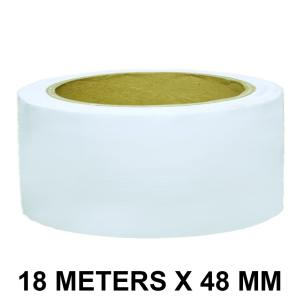 """White Duct Tape - 48mm / 02"""" Width"""