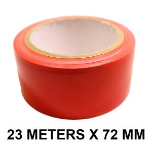 "Red Floor Marking Tape - 72mm / 03"" Width"