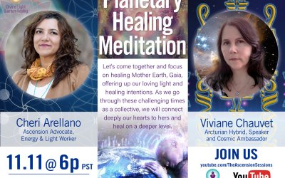 Planetary Healing Meditation with Viviane Chauvet & Cheri Arellano