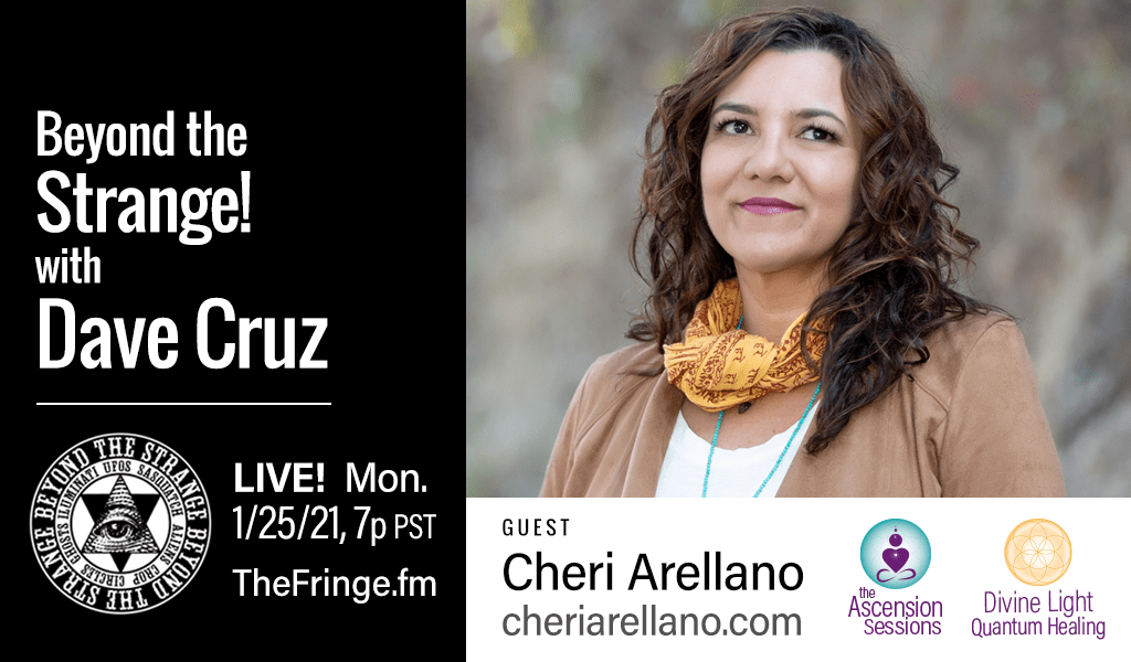 Beyond the Strange: Dave Cruz Interviews Cheri on Ascension & The Crystalline Healing Light