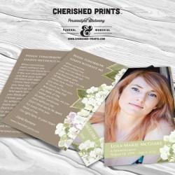 Hydrangea Bookmark