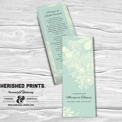 Chrysanthemum Bookmark