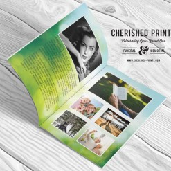 Morning Light Greenery-Program-Booklet-Obituary