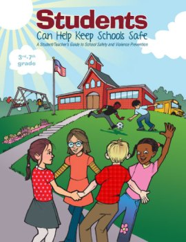 Students-Can-Help-Keep-Schools-Safe400 Students Can Help Keep Schools Safe: A Student/Teacher's Guide to School Safety and Violence Prevention A school violence prevention book for student's 3-8th grade. This book will teach students about what to do if they encounter an intruder in the building or know of students planning violence. This book offers a partial solution to the school violence epidemic sweeping our nation. If you are looking for a solution to school violence and school safety look no further! Students Can Help Keep Students Safe will help keep your children safe from harm. The subject matter of this book is overwhelming, but the material is delivered in a non-threatening, simple straightforward way. School safety has never been within the reach of every educator and parent until now. This book is published by West Bow Press.  Order Students Can Help Keep Schools Safe