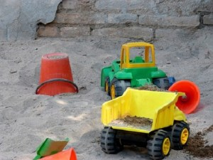 Cool sandbox toys