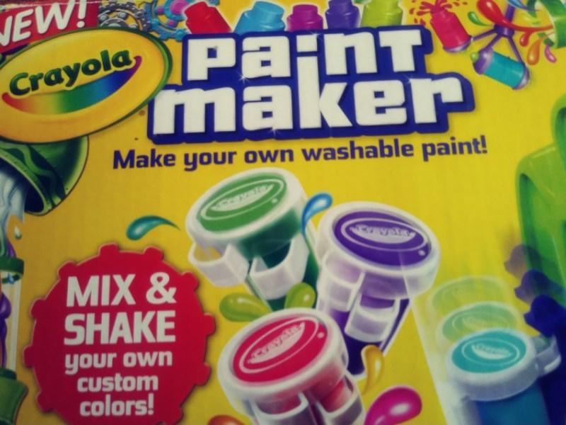 The Crayola Paint Maker