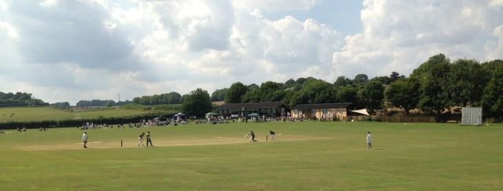Cheriton Sixes 2013 - cricket on a Bank Holiday Monday