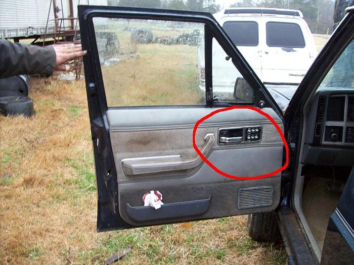 Jeep Cherokee Xj Interior Parts