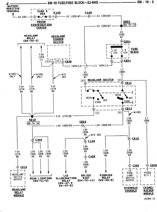 111152d1334807910t headlight switch problems headlightwiring?resize=518%2C700 1999 jeep cherokee sport stereo wiring diagram wiring diagram,Wiring Diagram 2003 Jeep Grand Cherokee Radio