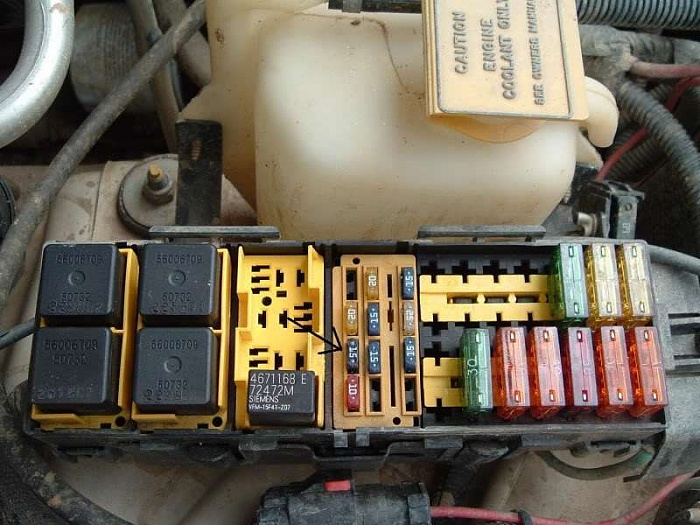 142782d1347153475t pdc fuse f18 keeps blowing 84009438?resize\\\=665%2C499\\\&ssl\\\=1 2000 jeep cherokee engine fuse box 2000 engine problems and 1996 jeep cherokee under hood fuse box diagram at gsmx.co
