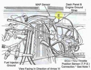 ground wire locations  Jeep Cherokee Forum