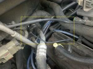 Vacuum leak under hood  Jeep Cherokee Forum