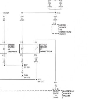 1997 Jeep XJ Sport Downstream o2 sensor connection  Jeep