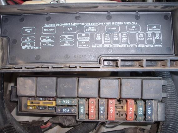 jeep yj fuse box  wiring diagrams options changemaniac