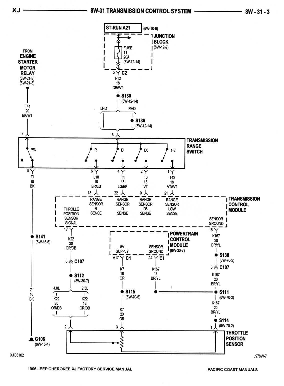 Tcu Pin8 Wiring Problem