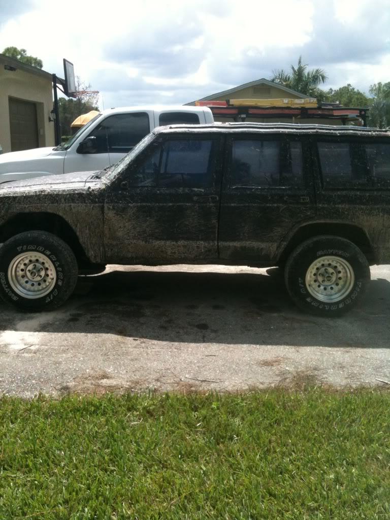My 500 Dollar Mud Truck Jeep Cherokee Forum