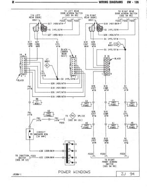window switch  wiring diagram or info  Jeep Cherokee Forum