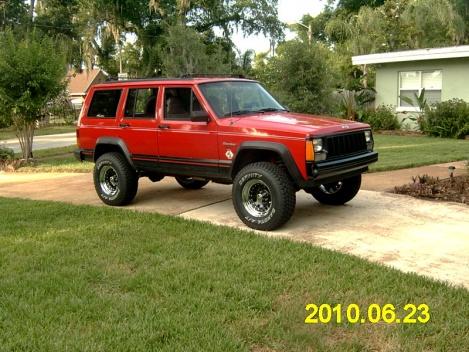 2001 jeep cherokee 3 inch lift