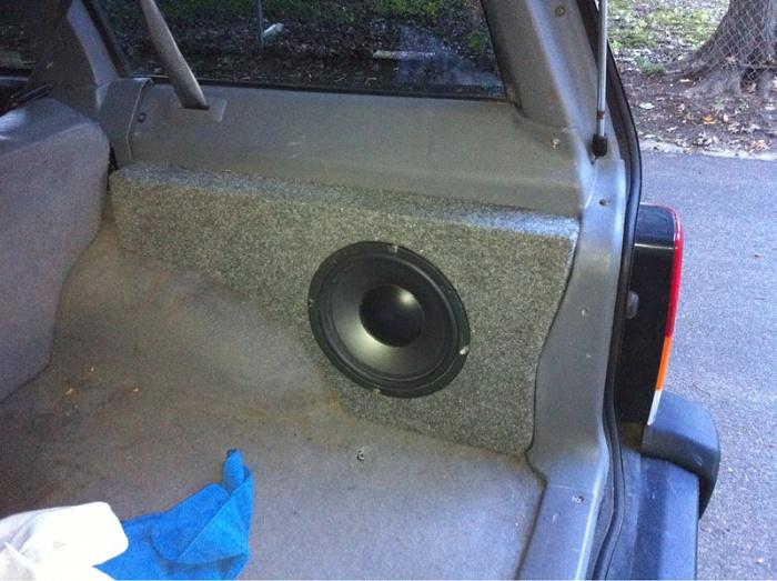 Sub Box Jeep Cherokee Forum