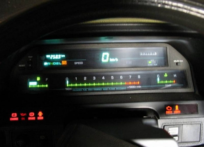 89 Renix Digital Cluster Conversion To Digital 1986