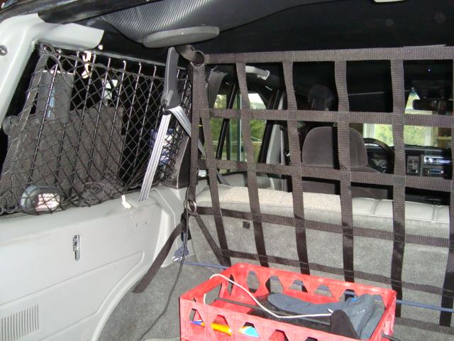 Cargo Area Divider Net Jeep Cherokee Forum