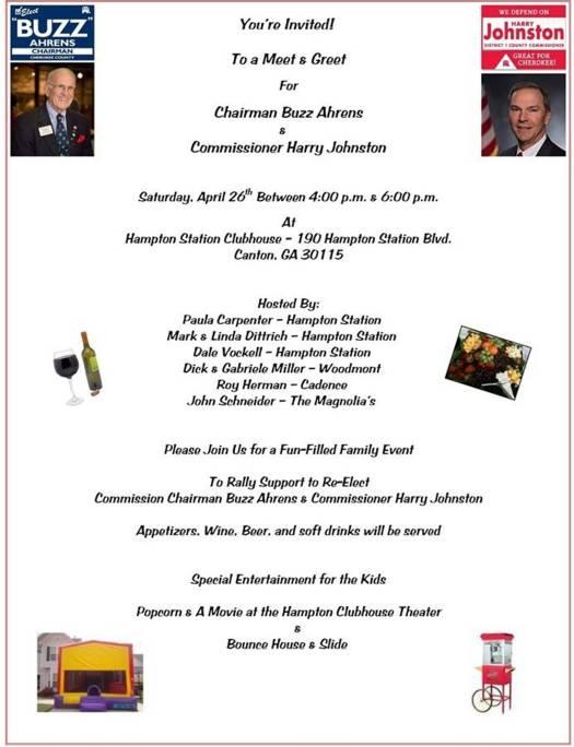 Invitation from Buzz Ahrens