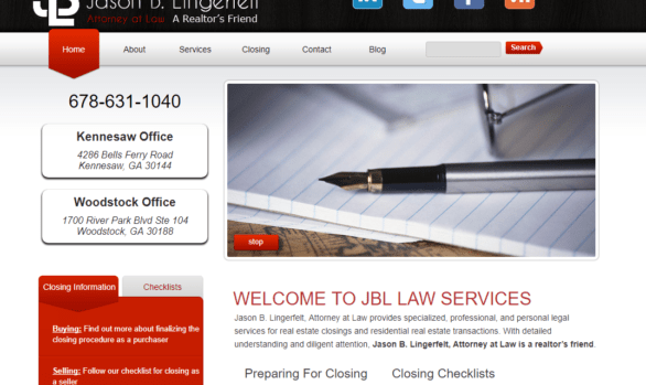 Jason B. Lingerfelt, Attorney at Law