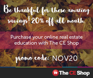 November CE Shop Promotion