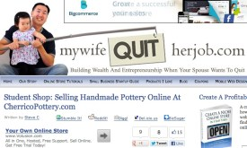 """""""Student Shop: Selling Handmade Pottery Online At CherricoPottery.com""""Guest Blog Posting2013"""