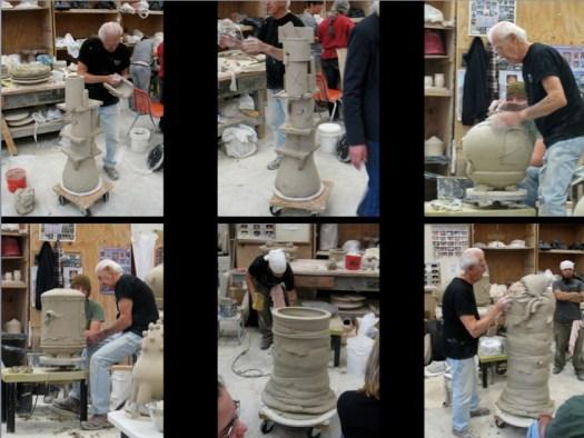 Don Reitz Workshop, Flagstaff AZ, photos by Joel Cherrico