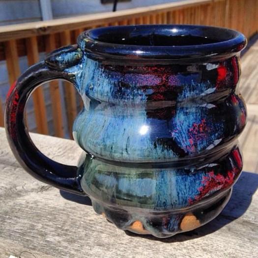 Cosmic Mug on the Deck