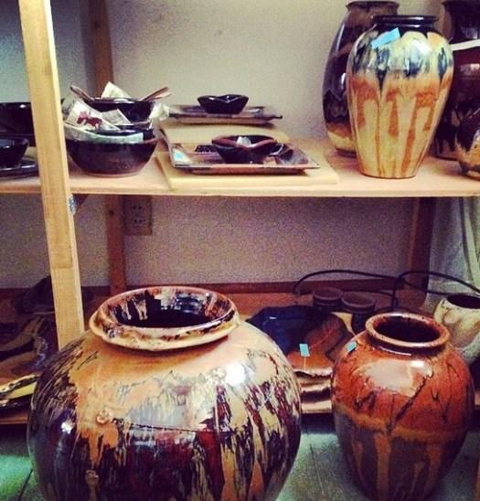 Prairie Fire Pottery, Copper Red Glaze, 2014